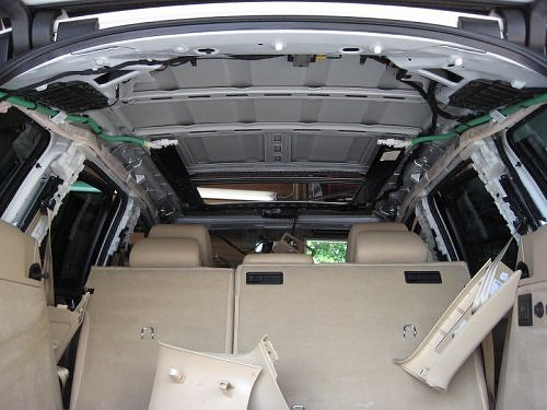 2002 2012 vw touareg headliner material 515 headliner express. Black Bedroom Furniture Sets. Home Design Ideas