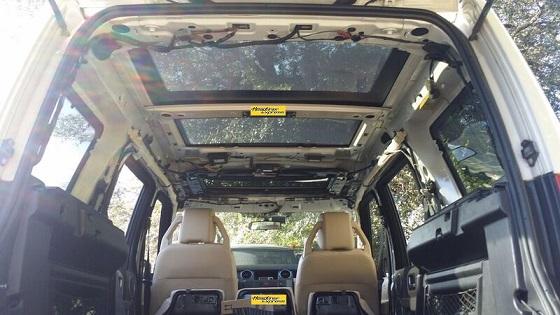 2005 2009 Land Rover Lr3 Headliner Material Amp Spray