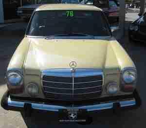 1967 1976 Mercedes 200 D 220 D 230 240d 250 C Ce 280